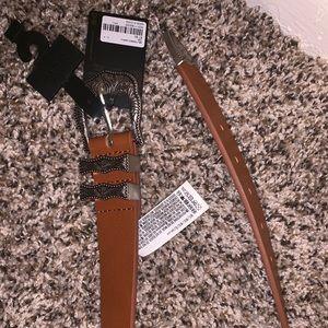 Forever 21 brown belt